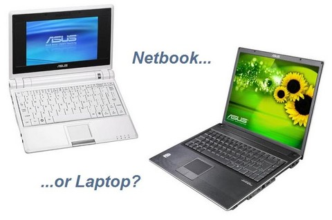 Consumers don't consider netbooks as laptop replacements